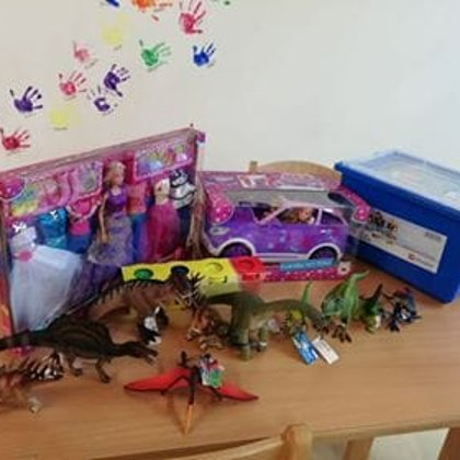 Diese schönen Spielzeuge gab es für den Kiga St. Franziskus